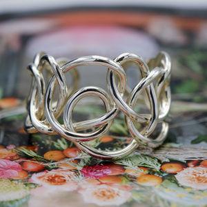 Jewelry - Free Form Sterling Silver Cuff Bracelet